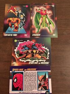 1992 SKYBOX MARVEL UNIVERSE SERIES 3 SINGLES 2- 199 YOU PICK 3 CARDS