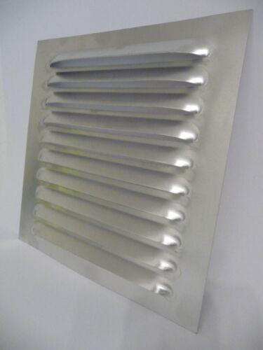 Lüftungsklappe Kiemenblech Lüftungsgitter Aluminium L.230mm B.230mm NEU L201341