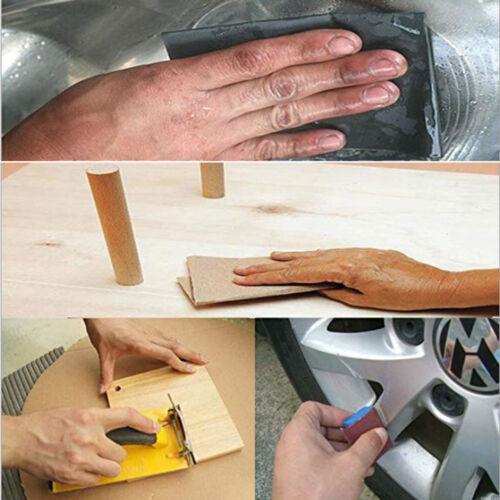 Wet Dry Sandpaper Abrasive Sanding Paper Grinding Polished Tools 150-7000 Grit~