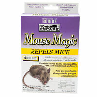 Mouse Magic Mouse Mice Repellent 12 Packs All Natural Oils Safe For Children
