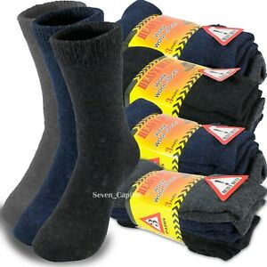 3-12-Pairs-Mens-Heavy-Duty-Winter-Warm-Thermal-Wool-Cotton-Boots-Work-Socks-9-13
