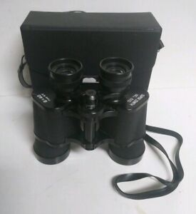 Vintage-Super-Zenith-8-x-40-Field-6-5-Binoculars-w-Case-Japan-Free-Shipping