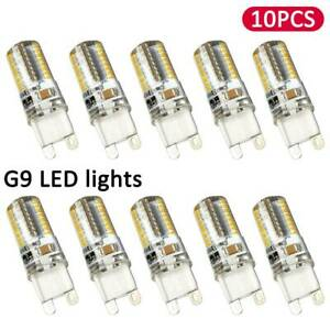 10X-G9-5-W-DEL-Dimmable-Capsule-Ampoule-Replace-lumiere-lampes-AC220-240V-UK