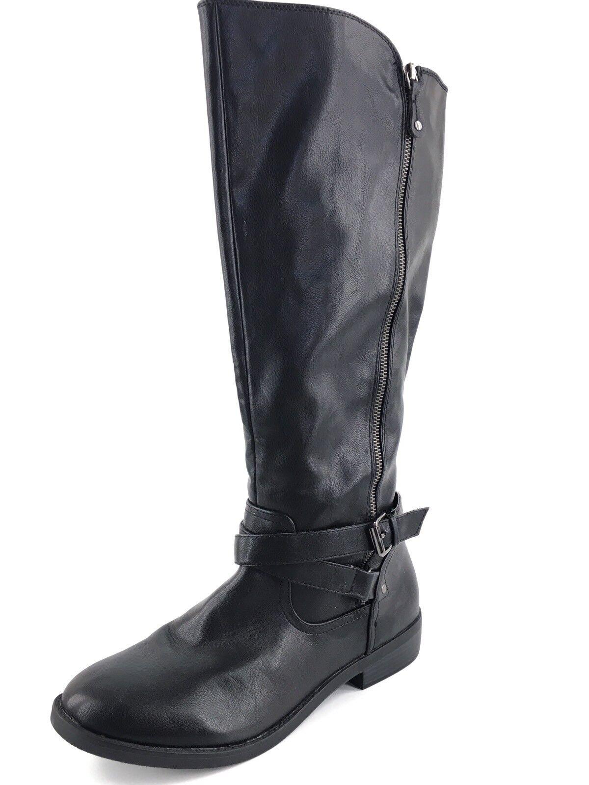 Report Harmoni Black Knee High Riding Boots Women's Size 11 M