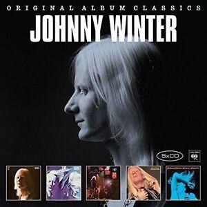 JOHNNY-WINTER-ORIGINAL-ALBUM-CLASSICS-5-CD-NEU