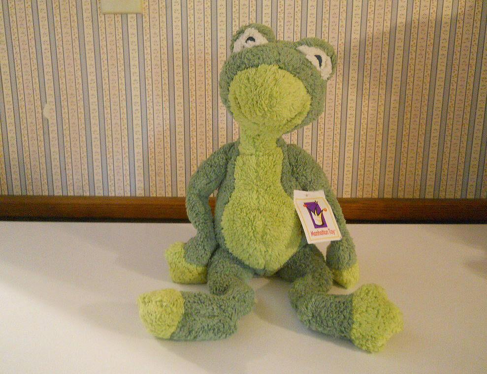 NEW Manhattan Toy Lolligags Bathsheba Frog 21