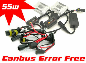 55W-H3-Xenon-Hid-front-fog-lights-Gas-Discharge-Conversion-Kit-Set-canbus