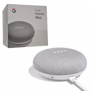 BNIB Google Home Mini Chalk with Voice Activated Wireless Speaker ... e032e73f1
