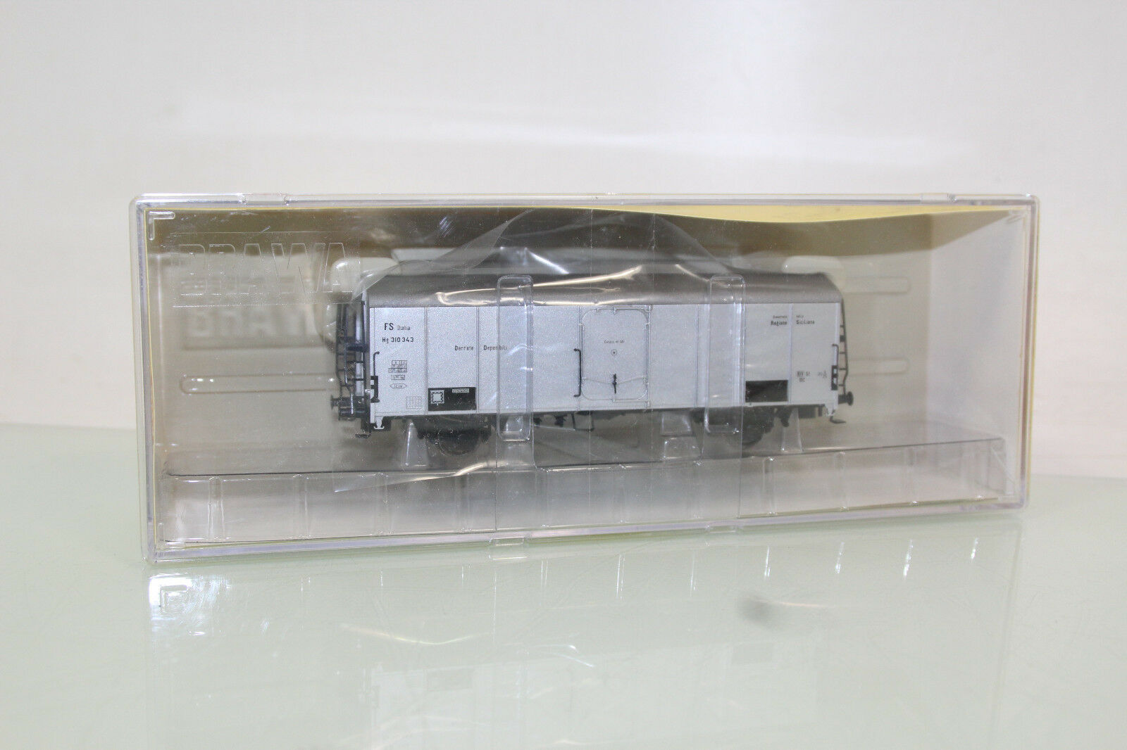 Brawa H0 2030 Italien Kühlwagen silber der FS neuwertig in OVP (SL6231)  | Sorgfältig ausgewählte Materialien