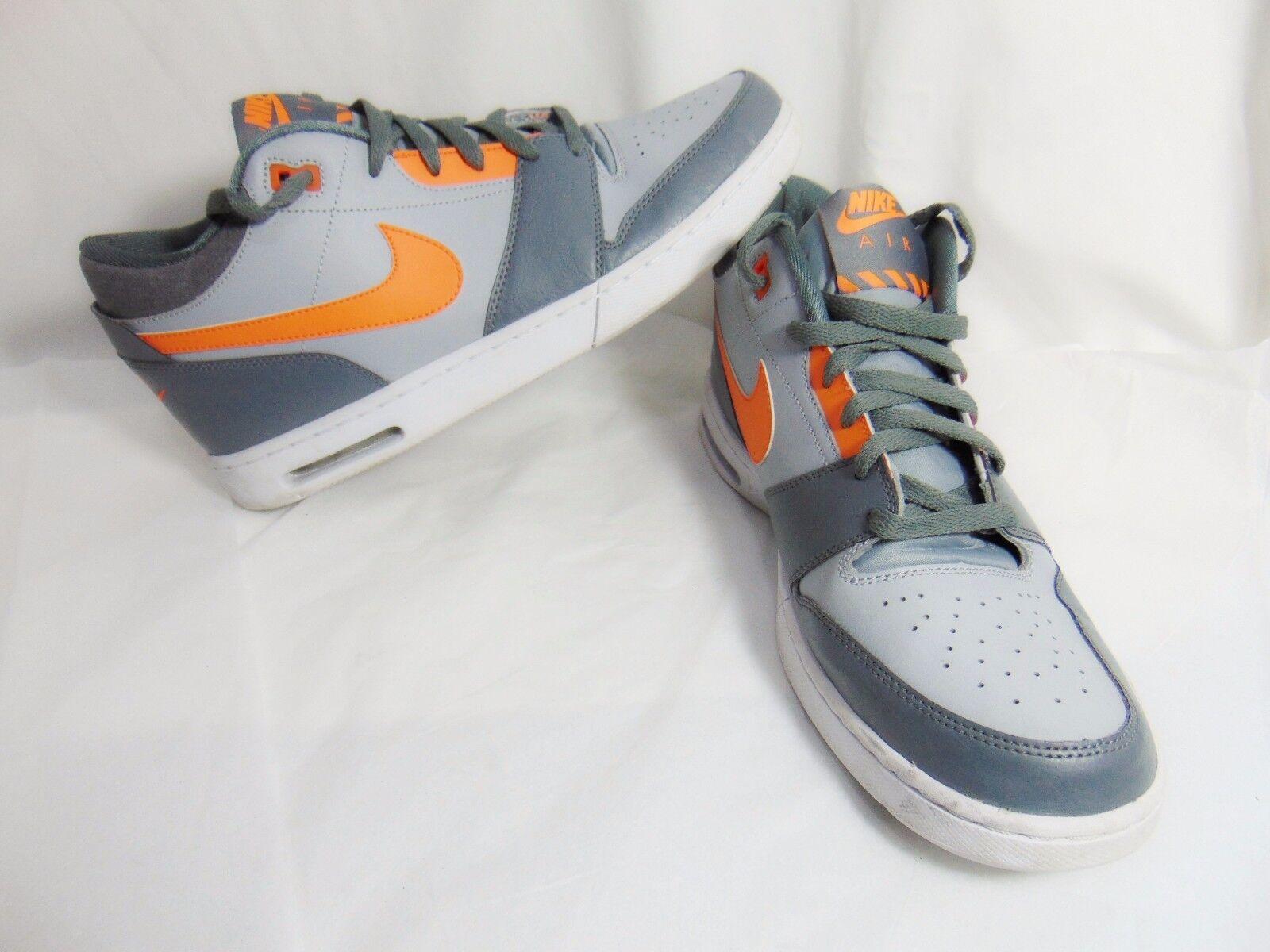 Nike air stepback männer sportschuhe turnschuhe 11,5 11,5 11,5 m gray orange 654476 080 8e290b