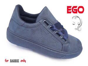 Caricamento dell immagine in corso SCARPE-DONNA-da-ginnastica-sportive-blu -lacci-sneakers- 5832b8c32b3