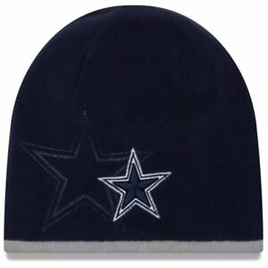 Image is loading DALLAS-COWBOYS-NEW-ERA-2015-YOUTH-TECH-KNIT- a437980dc