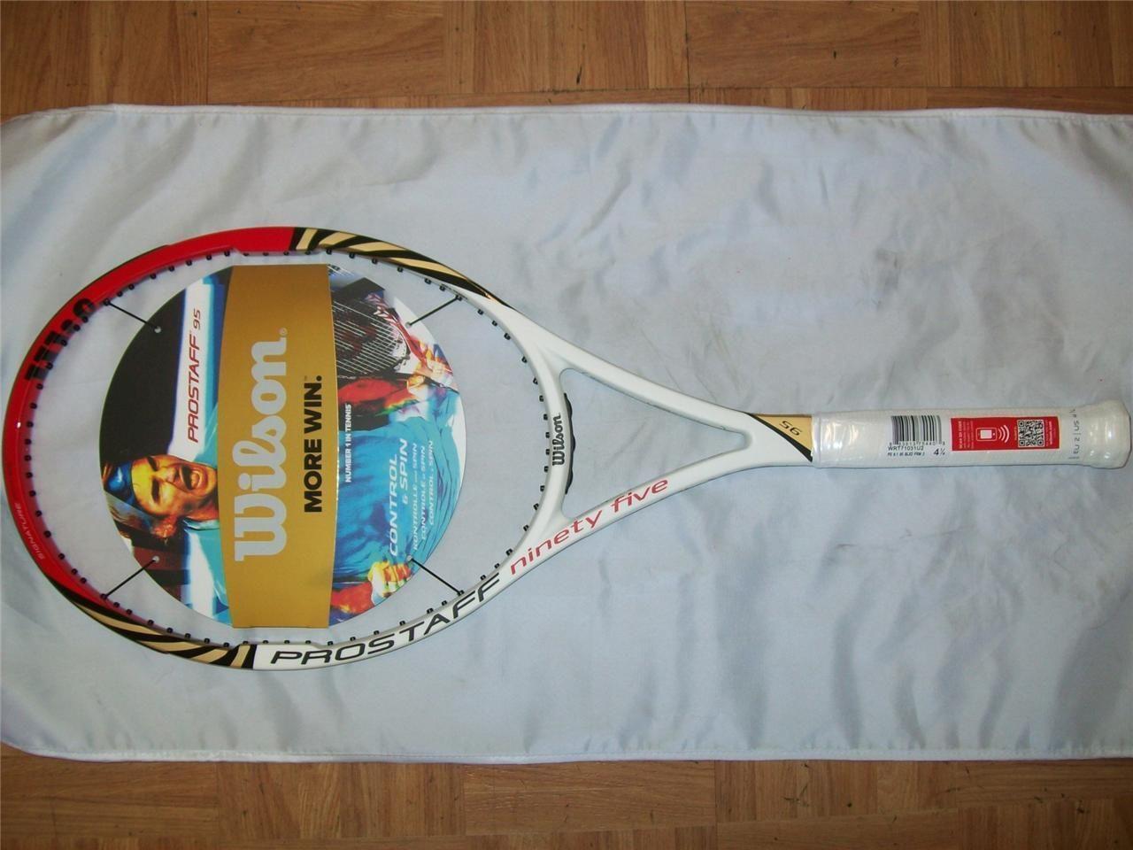 New 2012-2013 Wilson BLX Pro Staff 95 head 4 1 2 grip DIMITROV Tennis Racquet