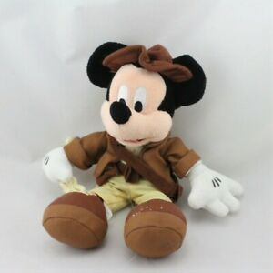 Doudou-Mickey-Indiana-Jones-DISNEY-Souris-Rat-Classique