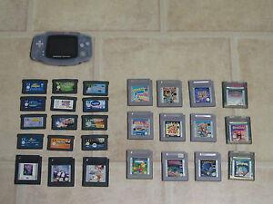 GameBoy Advance GBA + 3 Gratis Spiele
