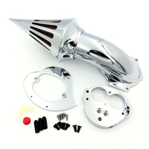 Chrome Air Cleaner Kits Intake For 2000-2012 Kawasaki Vulcan 1500 1600 Classic