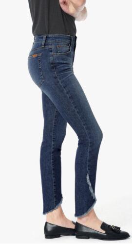 Joe/'s Jean/'s Women/'s Mid-Rise Skinny Icon Ankle Tulip Frayed Hem in Salem