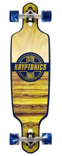 Longboard Skateboard KRYPTONICS White Wash 36 longboard skate longboard