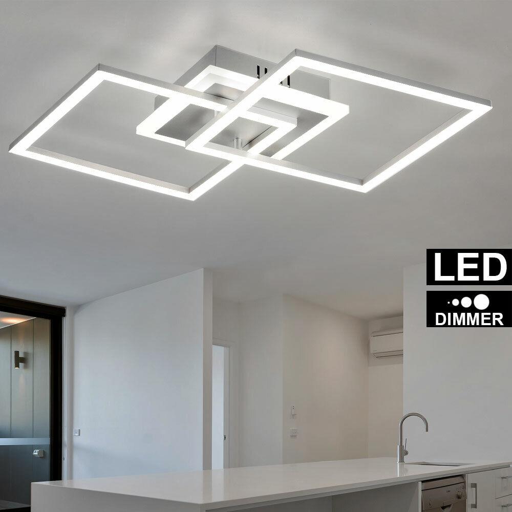 LED Decken Fluter Steh Lampe schwarz Gäste Schlaf Zimmer Touch Dimmer Leuchte