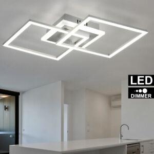 LED 24W Decken-Lampe Wohn-Ess-Zimmer Beleuchtung 35 cm Küchen Flur Leuchte RUND