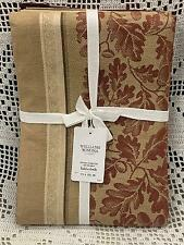 "Williams-Sonoma Acorn Harvest Jacquard Tablecloth 70"" X 126"""