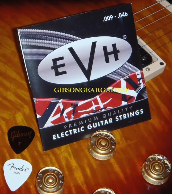 Eddie Van Halen Signature Guitar Strings EVH 9/46 Strat Parts Gibson Fender Pick