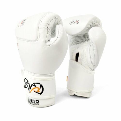 Rival Boxing RB50 Intelli-SHOCK Borsa compatta Guanti Bianco Guanti da allenamento PADS
