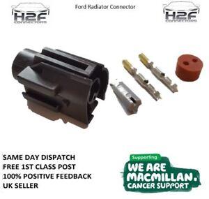 Ford-2-Pin-Radiator-Fan-Switch-Connector-Sierra-Focus-Escort-Zetec-FREEPOST