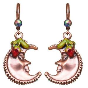KIRKS-FOLLY-Strawberry-Moon-Leverback-Pierced-Earrings-coppertone