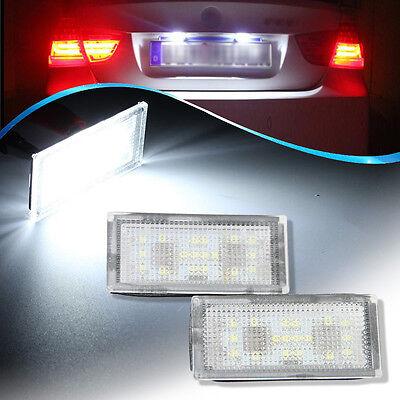 2x 5w CREE CAN BUS OBC ERROR FREE AUDI VW C5W 36mm Number Plate Led White