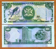 Trinidad and Tobago, 5 dollars, 2006 (2017), P-New, New Sig. UNC
