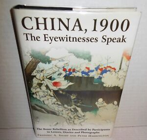 BOOK-China-1900-Boxer-Rebellion-Eyewitnesses-in-Letters-Diaries-Photos-op-2000