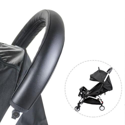 Universal Kinderwagen Kunstleder Schutzhülle Handgriff Protektor 1 Size