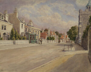 William-James-Early-20th-Century-Watercolour-Lewes-Sussex