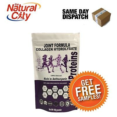 Nes Proteins Joint Formula Cherry Collagen Hydrolsate 100% 100g- Gout Relief