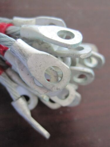 MS25083-2BB3 ELECTRICAL LEAD BONDING JUMPER ASSY LOT OF 25 MS25083 SERIES