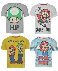 T-shirt-Mario-enfant-garcon-3-13ans