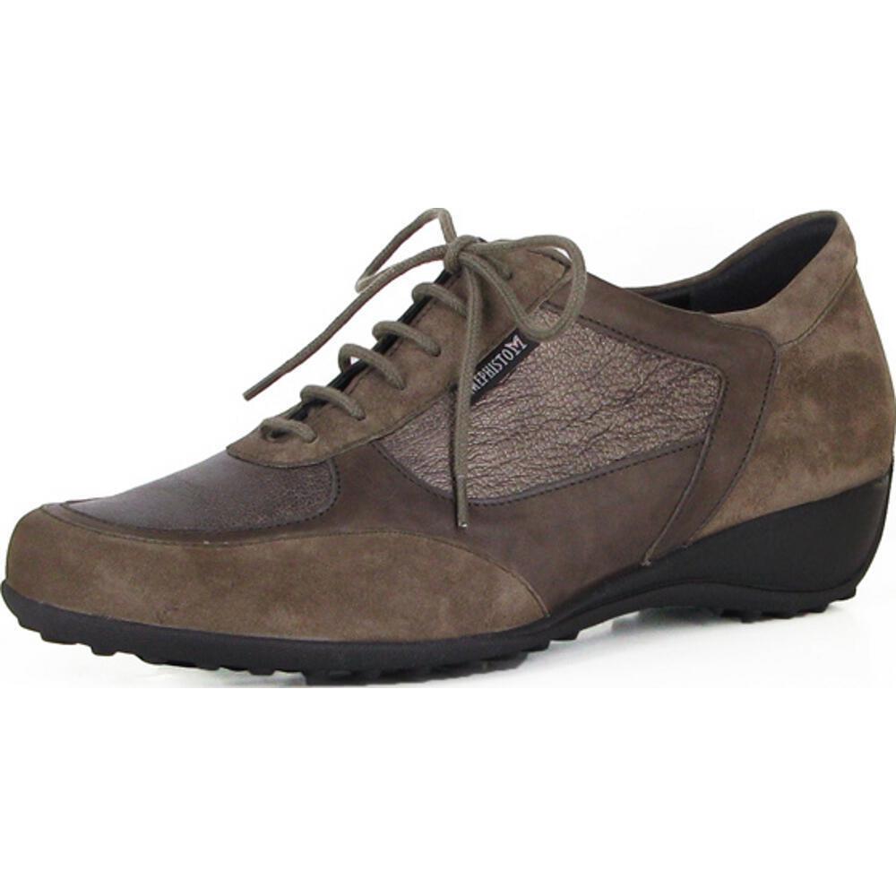 Ladies Casual Lace Up shoes Mephisto Lezima Pewter UK Size 5.5