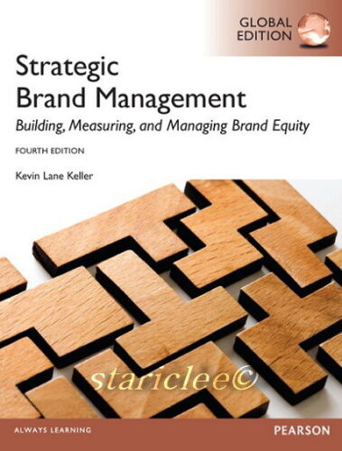 1 of 1 - NEW 3 Days to AUS Strategic Brand Management 4E Kevin Lane Keller 4th Edition
