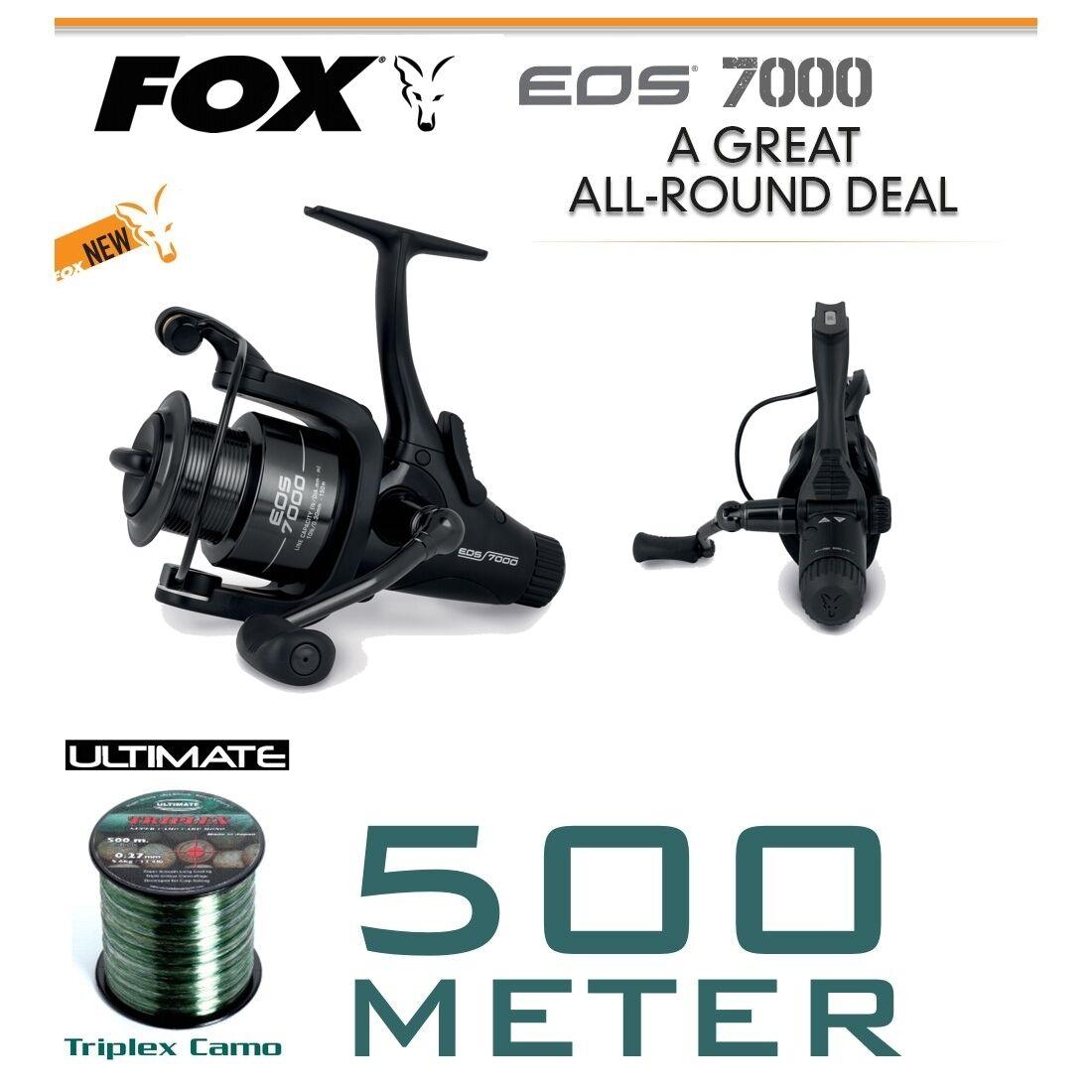 Fox EOS 7000 + 500m filo