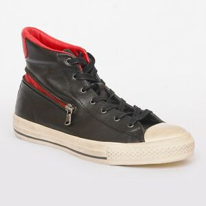 7d21f9b0419d NIB John Varvatos Converse CT All Star Leather Zip High Tops in ...