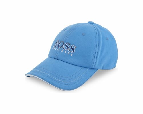 Hugo Boss Kids J21177 822 Baseball Cap Blue Boys Caps