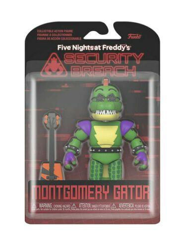 Cinq Nights at Freddy/'s faille de sécurité Funko Action Figure-Montgomery Gator