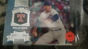 Verzamelkaarten, ruilkaarten 2013 Topps Chasing History Gold Holo-Foil #CH-27 Nolan Ryan Texas Rangers Card Honkbal