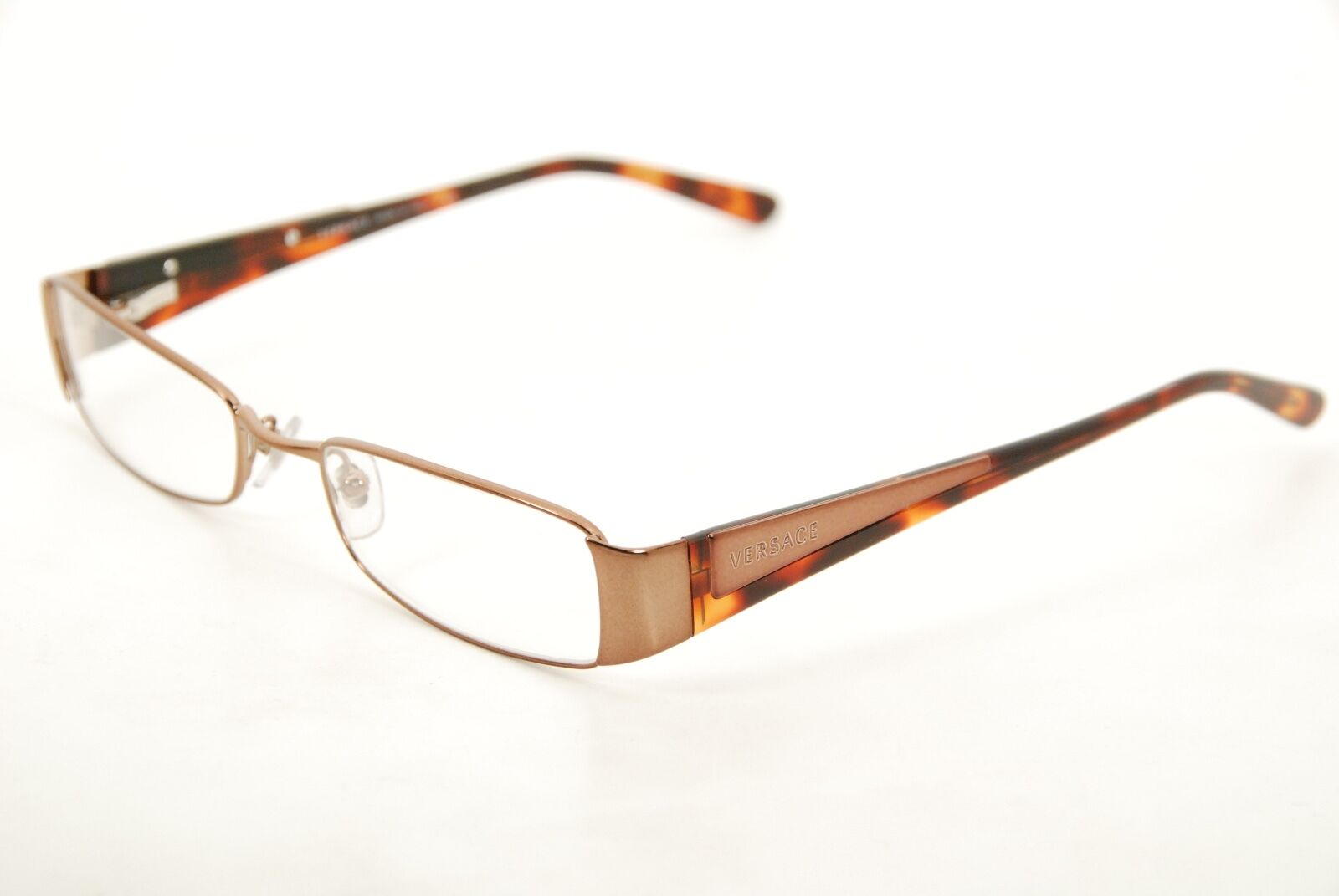 5e521aae1856 Authentic Versace Mod 1084 1045 Bronze havana 50mm Eyeglasses RX ...