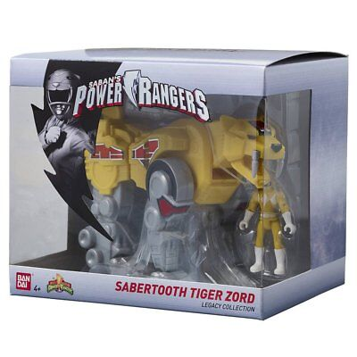 Saban's Power Rangers - Sabertooth Tiger Zord - Bandai Jouet Figurine - Neuf
