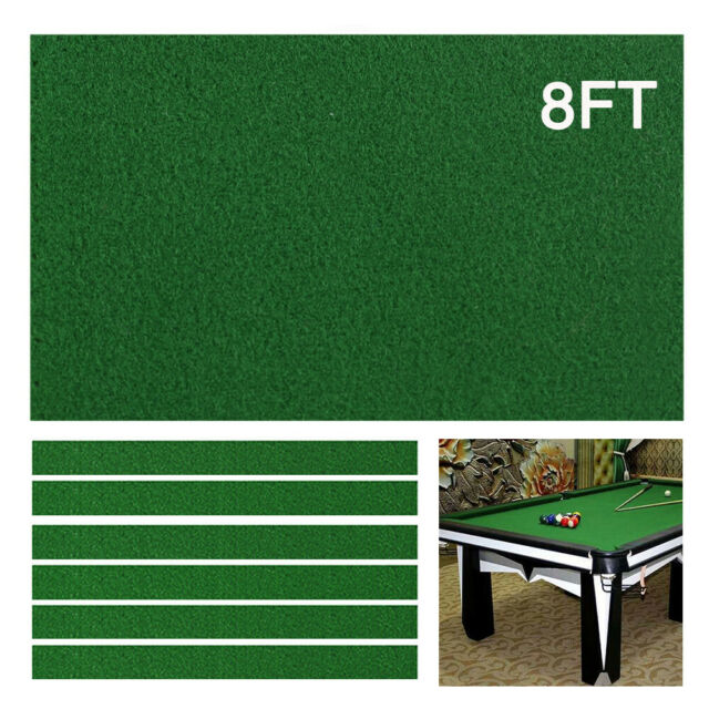 Red Professional Billiard Cloth Felt Mat Cover For 7ft//8ft Table Billiard Pool