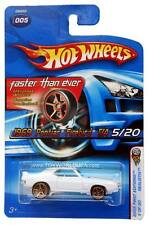 2005 Hot Wheels #005 Realistix First Editions '69 Pontiac Firebird T/A white FTE