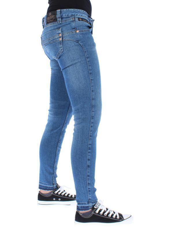 Herrlicher Jeans Donna Donna Donna Touch Ritagliato 076 Blend 7ffade