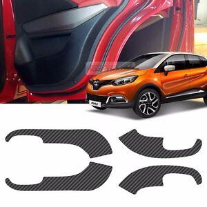 Carbon Door Decal Sticker Cover Kick Protector For JAGUAR